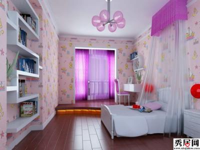 女孩卧室贴什么颜色的壁纸好看?-罗兰家居商城官网